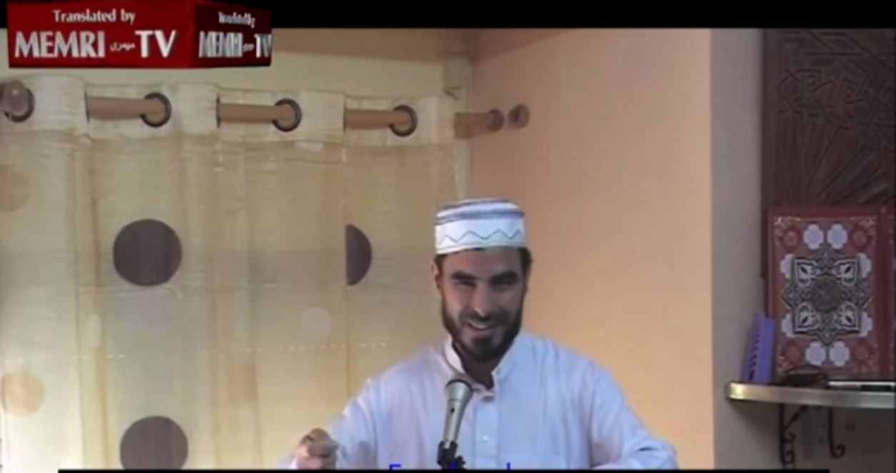 2014-08-27 11_31_58-Friday Sermon in Spain_ _Allah, Destroy the Plundering Jews, Do Not Spare a Sin