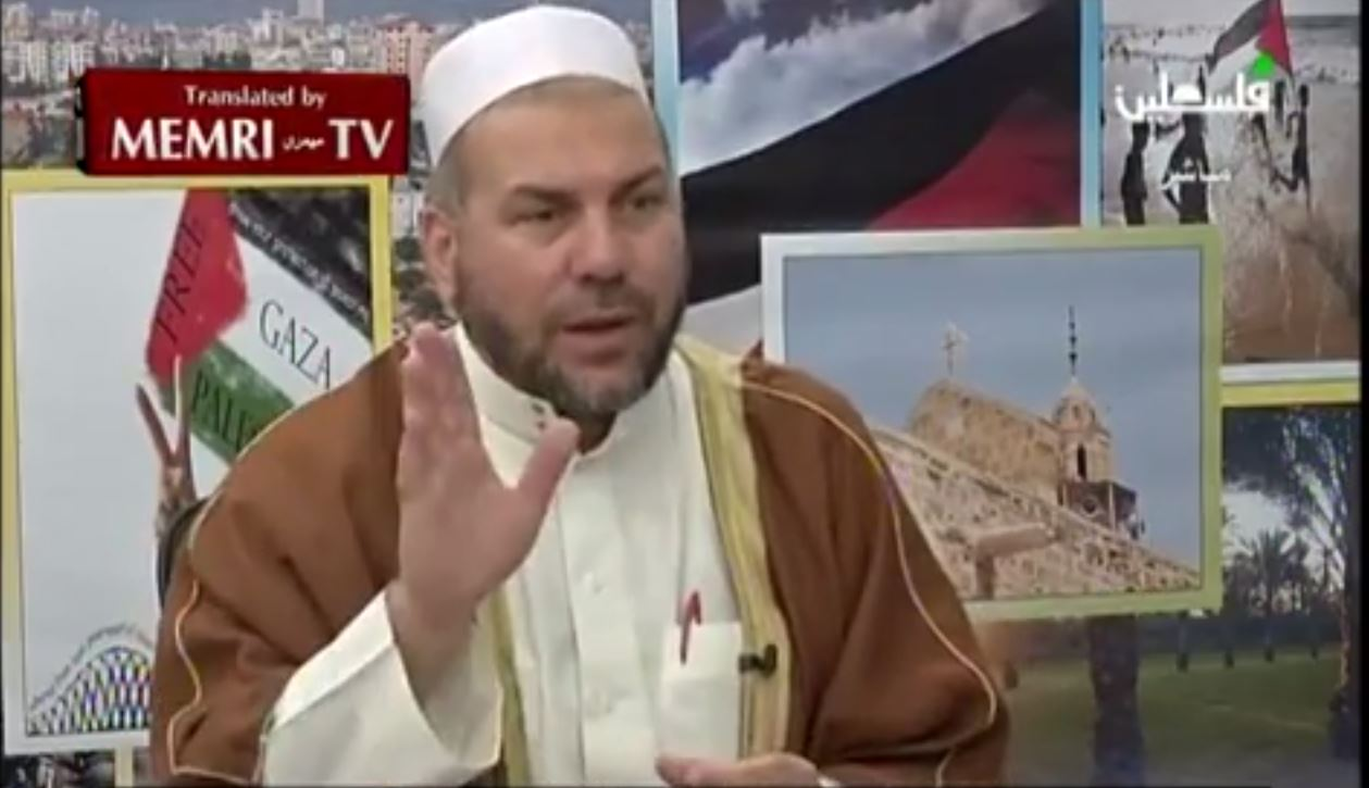 2014-10-06 13_37_16-‪Cleric to Palestinian Authority TV_ True Jihad Is in Palestine - YouTube