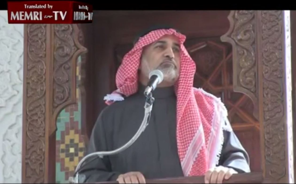 Former Jordanian Minister in Friday Sermon Quotes Hitler_ The Jews Corrupt the Y