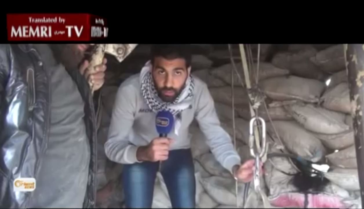 Gaza Know-how Serves Syrian Rebels Digging Attack Tunnels - YouTube