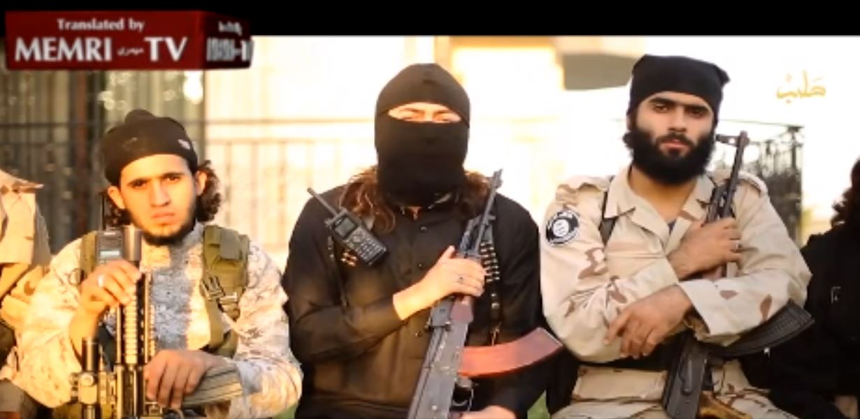 MEMRI_ Palestinian ISIS Fighters in Aleppo Threaten Hamas_ Gaza Shall Witness Bl