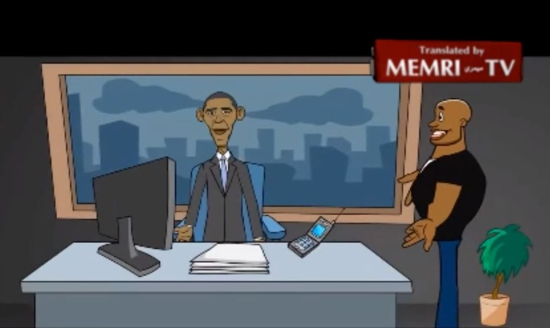 MEMRI_ _Obama and Twitter_ - Second Installment of Pro-ISIS Animation Series Cal