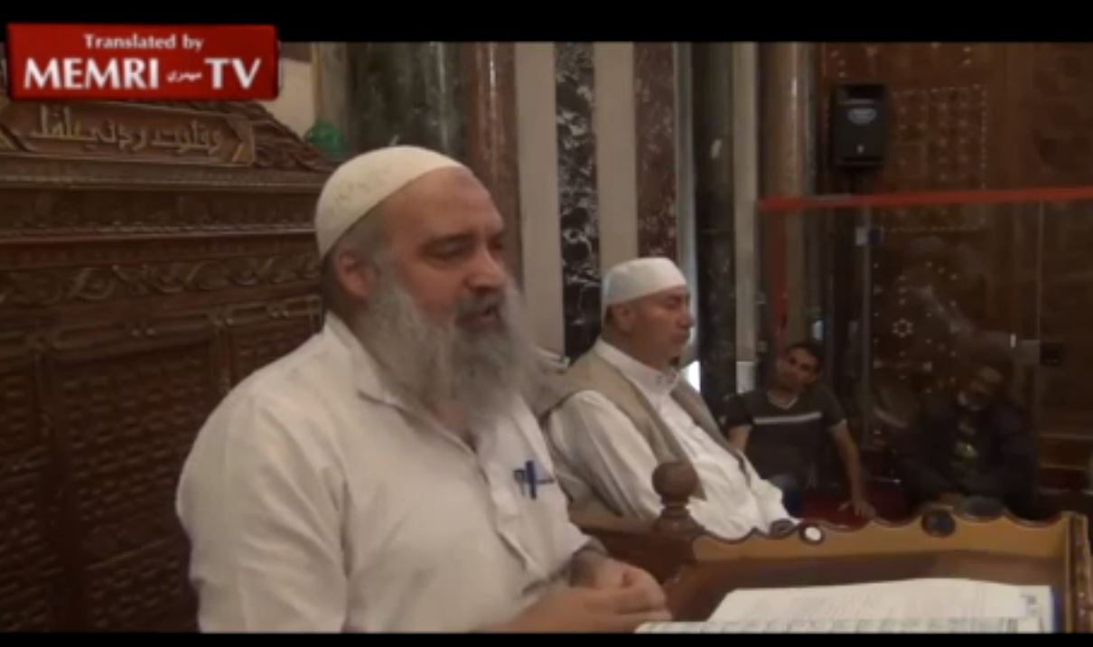 Palestinian Cleric at Al-Aqsa Mosque_ The Jews Own Half the World's Money, Belie