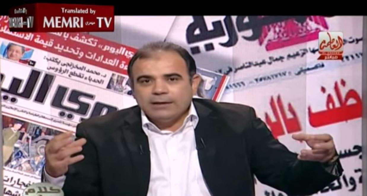 Egyptian TV Host and Journalist Magdy Tantawy_ We Need a Just Dictatorship - You