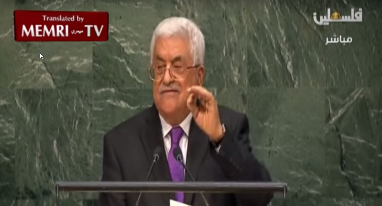 Mahmoud Abbas to U.N. General Assembly_ We Can No Longer Be Bound by Oslo Accord