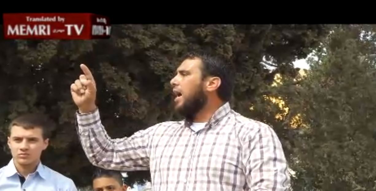 Palestinian Preacher at Al-Aqsa Mosque Rally Calls to Restore the Caliphate, Ann