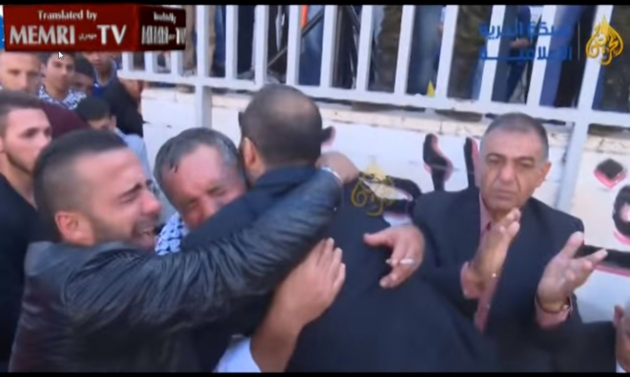 At Palestinian Stabber's Funeral, Father Marries Off Son to Another _Martyred_ S