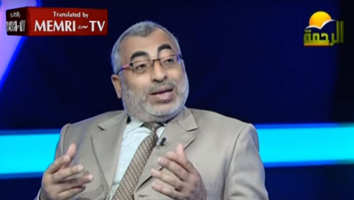 Egyptian TV Host and Historian Concur_ Burning Is the Only Solution for the Jews