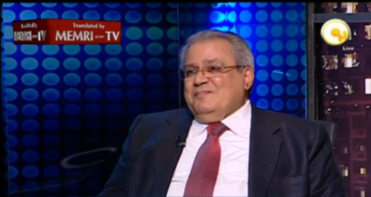 Former Egyptian Minister of Culture Gaber Asfour Supports Imprisoned Reformist I