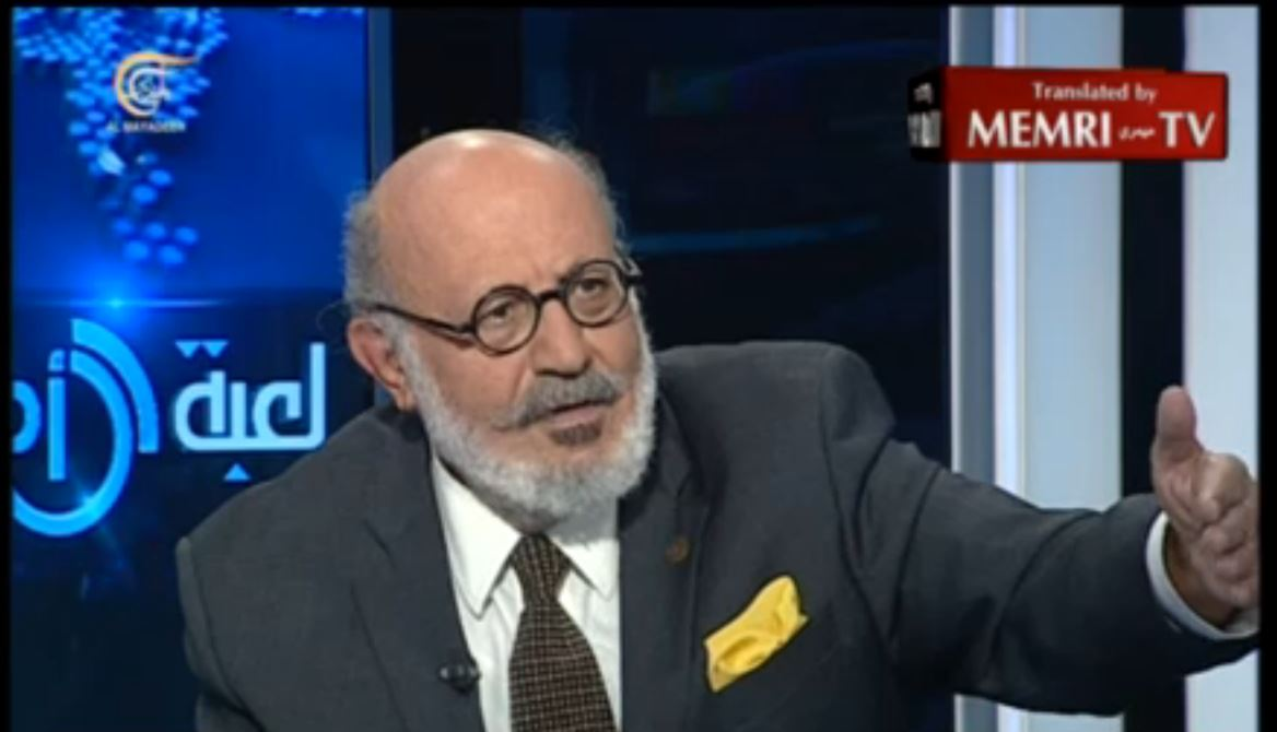 Leader of the Lebanese Peace Party Roger Edde_ The Arabs' Problem Is Iran, Not I