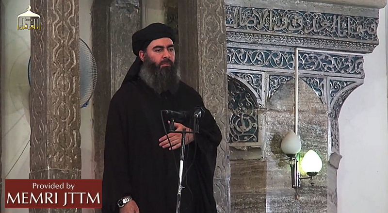 The leader of the militant Islamic State Abu Bakr al-Baghdadi has made what would be his first public appearance at a mosque in the centre of Iraq's second city, Mosul,